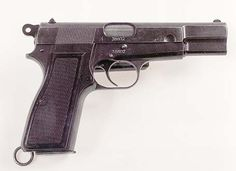 After 1940 production In Belgium continued, but this time it was for the Germans who adopted the type as the standard pistol of the Waffen SS, although other arms of the German forces also used the weapon. To the Germans the Browning HP was known as the Pistole P620(b)