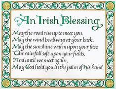 My favorite Irish blessings