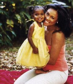Lela Rochon and daughter My Black Is Beautiful, Beautiful Family, Black Love, Beautiful People, Beautiful Women, Black Celebrities, Celebs, Beautiful Celebrities, Celebrity Kids