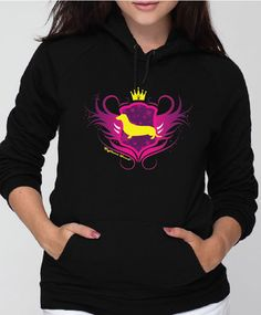 Righteous Hound - Unisex Noble Dachshund Hoodie