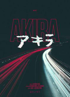Akira #fanmade #movie #poster