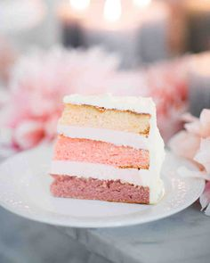 b886b844398 The Prettiest Ombré Wedding Cakes for Couples Who Love Color