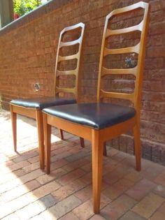 Minneapolis: Vintage Retro Mid Century Danish Modern Chairs (X2) $120 - http://furnishlyst.com/listings/491931