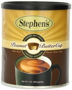 Stephen's Gourmet Hot Cocoa, Peanut Butter Cup, 16-Ounce Can Stephen's Gourmet http://www.amazon.com/dp/B00631I6NS/ref=cm_sw_r_pi_dp_MGKZwb0S5TA59