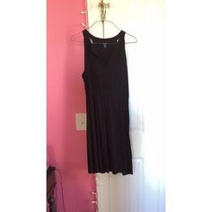 black Old Navy dress only worn a few times; great for a casual summer dress Old Navy Dresses Midi