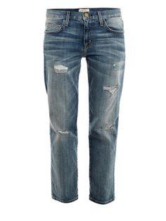 Current/Elliott The Boyfriend low-rise jeans MATCHESFASHION.COM #MATCHESFASHION