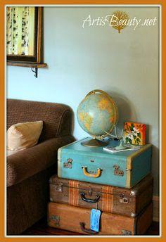 Vintage Suitecases