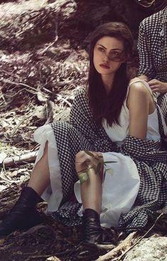 Phoebe Tonkin – Vogue Australia Magazine (March 2015)