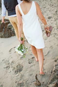 malibu beach elopement
