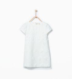 ZARA - ДЕТИ - Платье из гипюра с цветочным узором