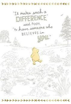 The best Winnie the Pooh quotes about love, friendship, and adventure and more! the pooh Quotes The Best Winnie the Pooh Quotes & Christopher Robin Movie Trailer Cute Winnie The Pooh, Winnie The Pooh Quotes, Eeyore Quotes, Winnie The Pooh Classic, Vintage Winnie The Pooh, New Quotes, Inspirational Quotes, Baby Quotes, Friend Quotes