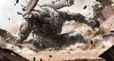 mecha prawn awakens by mohammed z mukhtar Machine Rendering Character Concept, Character Design, Robot Concept Art, Armor Concept, Dragon, Futuristic Art, Art Station, Cool Writing, Matte Painting