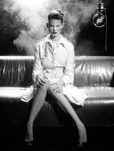 Models: Behati Prinsloo Photographer: Miles Aldridge Vogue January 2005 - 2