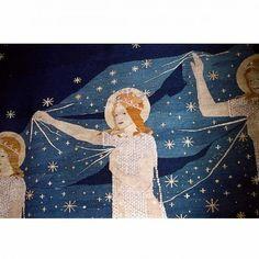 """Frida Hansen / absolutetapestry.com  """"Melkeveien, detalj"""" (The Milky Way, detail)"""
