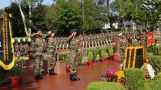 The Indian Army is celebrating the 68th Infantry Day today. Pic of commemoration from Northern Command.