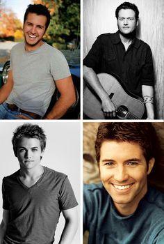 Luke Bryan, Blake Shelton, Hunter Hayes, Josh Turner