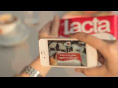 Lacta Chocolate and Personalized Messages using Augmented Reality Technology