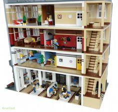 De Luca's Menswear: A LEGO® creation by . Snaillad . : MOCpages.com