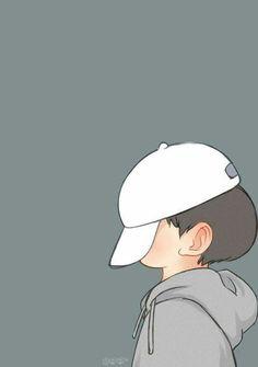 Cute Cartoon Boy, Cute Love Cartoons, Cute Anime Boy, Cartoon Pics, Cartoon Art, Girly Drawings, Cute Kawaii Drawings, Art Drawings Sketches Simple, Cartoon Drawings