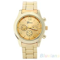 New Fashion Geneva Ladies Women Girl Unisex Stainless Steel Quartz Wrist Watch 03YP #>=#>=#>=#>=#> Click on the pin to check out discount price, color, size, shipping, etc. Save and like it!