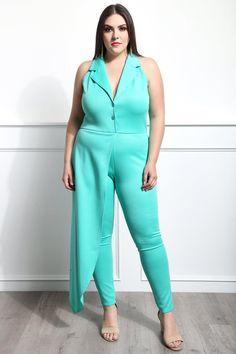d7926fd77ad Candy Treats Plus Size Jumpsuit Dresses+ GS-LOVE