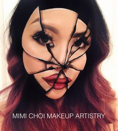 Talented Makeup Artist Takes Facial Optical Illusions to a Whole New Level | Oddity Central - Collecting Oddities