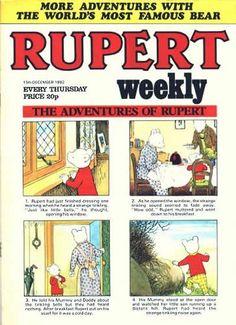 Rupert Weekly - Popular UK character.
