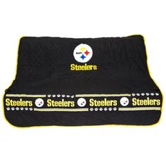 78be1b15438 Pittsburgh Steelers Officially Licensed NFL Pets First Dog Pet Car Seat  Cover