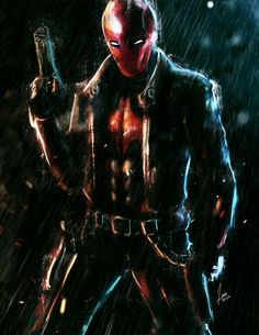 Jason Todd: Red Hood by Lenin Angelo