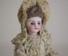 "6"" Simon Halbig mignonette all bisque doll 'Bather' circa 1880 from lilysworld on Ruby Lane"