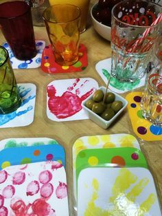 Colorful coasters – Father's Day 2016 Source by Father Christmas, Christmas Crafts For Kids, Puffy Paint, Mother's Day Diy, Gifts For Mum, Kids And Parenting, Food Inspiration, Bunt, Fathers Day
