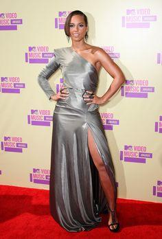 Alicia Keys' dress @ 2012 VMA's!!!