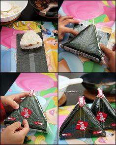 Recipe: Samgak Kimbap