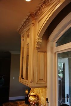 Arched Window Valance - traditional - - other metro - by JM Custom Cabinets and Furniture Inc.