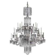 Magnificent antique french baccarat crystal chandelier circa 1850 19th century baccarat crystal chandelier aloadofball Image collections