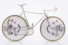 East Meets West: Vintage Luxury Bicycles Koinago #vintagebicycles