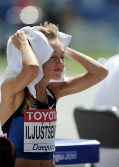 Estonian Grit Sadeiko competes in the wo Pictures | Getty Images