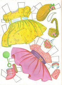 Paper Dolls~Tiny Thumbelina - Bonnie Jones - Picasa Web Albums