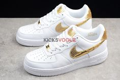 detailed look 87580 46b85 Nike Air Force 1 CR7  Golden Patchwork  AQ0666-100 Air Force Ones,
