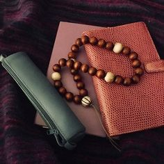 My husband and I are celebrating 10 years since we got together. I am forever grateful that we got together. He is incredibly supportive and deeply loving. Weve come away for a long weekend to #York and of course Ive bought my essentials - prayer beads prayer book journal pencil case and blanket #devoted #prayer