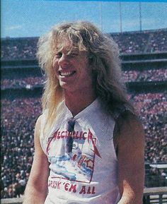 James Hetfield 1985
