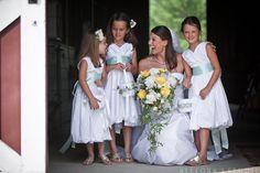 This is just the sweetest thing #flowergirls #bride #ccseventsrva #allegrasstudio #privateestate