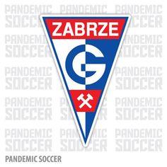 Gornik Zabrze Poland Soccer Vinyl Sticker Decal