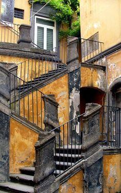 Palazzo Marigliano ♦ Vasto, Naples, Italy | Flickr - Photo by laura.foto