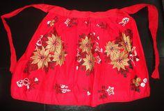 ~~vintage Christmas apron~~