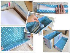 Resultado de imagem para encapar caixa de papelão com papel contact