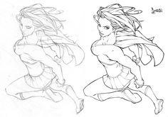 Supergirl by *CarlosGomezArtist on deviantART