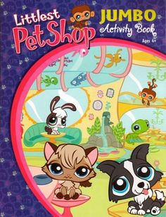 Littlest Pet Shop Jumbo Activity Book ~ Fun Around Town by Bendon Publishing International, Inc.. $2.99