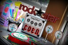 Rock Star Baby party