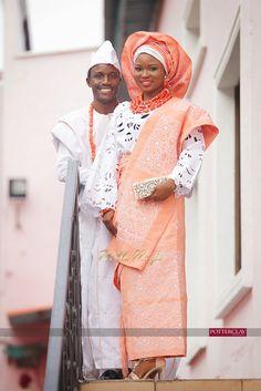 BellaNaija Bride & Groom, Tolu & Kemi | Yoruba Traditional Wedding | Potterclay Photography